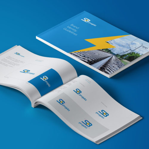 Vladimir Laurencik - Complete corporate identity and design manual for SB projekt